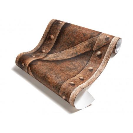 papier peint poutre m tallique pleine rouille. Black Bedroom Furniture Sets. Home Design Ideas