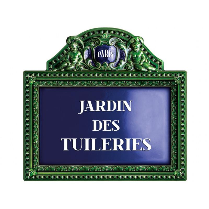 Plaque de rue jardin des tuileries for Jardin 122 rue des poissonniers