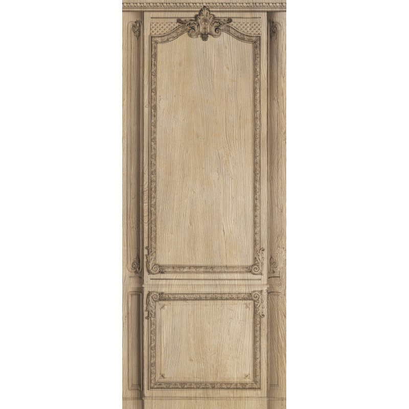 d cor boiserie haussmannienne bois brut panneau relief 125cm. Black Bedroom Furniture Sets. Home Design Ideas
