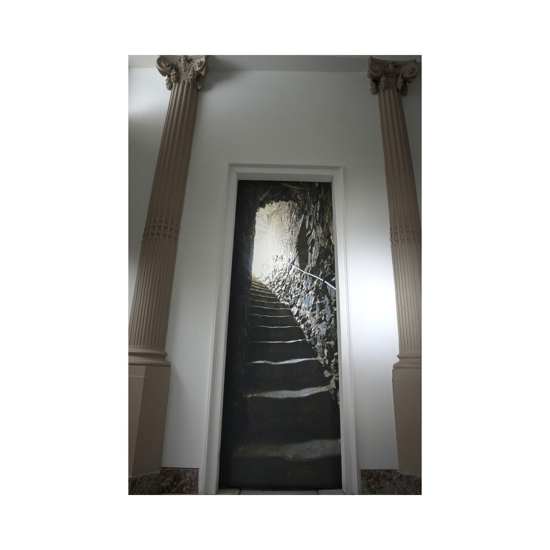 Trompe L œil Pour Portes Et Murs Escalier De Catacombes
