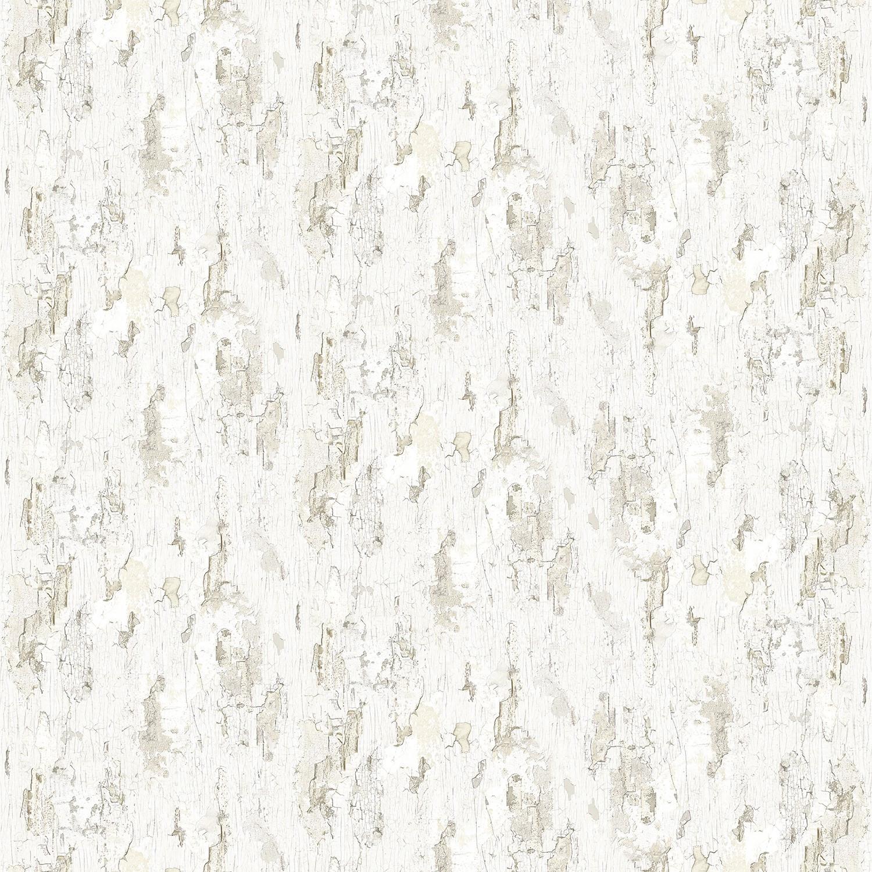 Papier A Peindre Motif papier peint peinture écaillée blanche