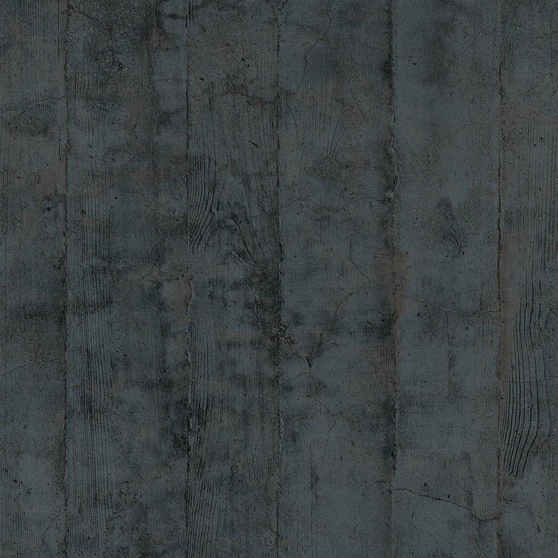 Couleur Gris Bleu Foncé papier peint planches de bois chêne gris bleu foncé