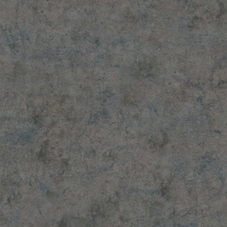 Papier Peint Beton Texture Anthracite Bleu