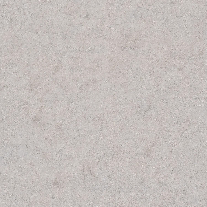 Light Beige Textured Concrete Wallpaper