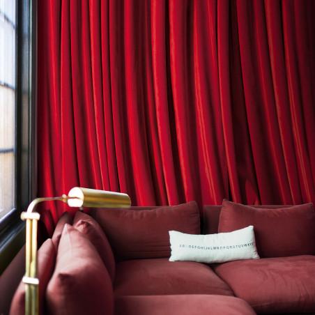 Papier peint panoramique Rideau rouge