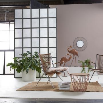 papier peint plaque m tallique vert de gris. Black Bedroom Furniture Sets. Home Design Ideas