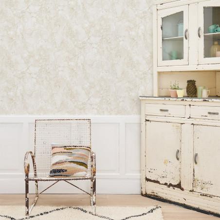 Stone marble wallpaper beige