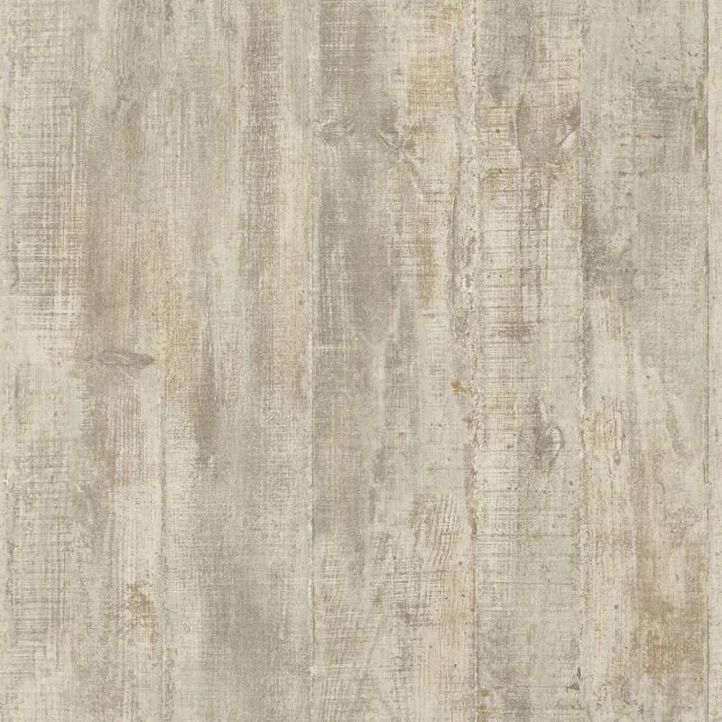 Papier peint Béton coffré gris beige