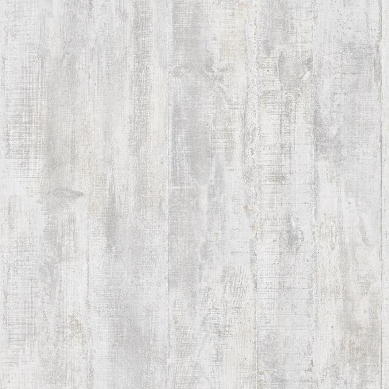 Papier peint Béton coffré gris