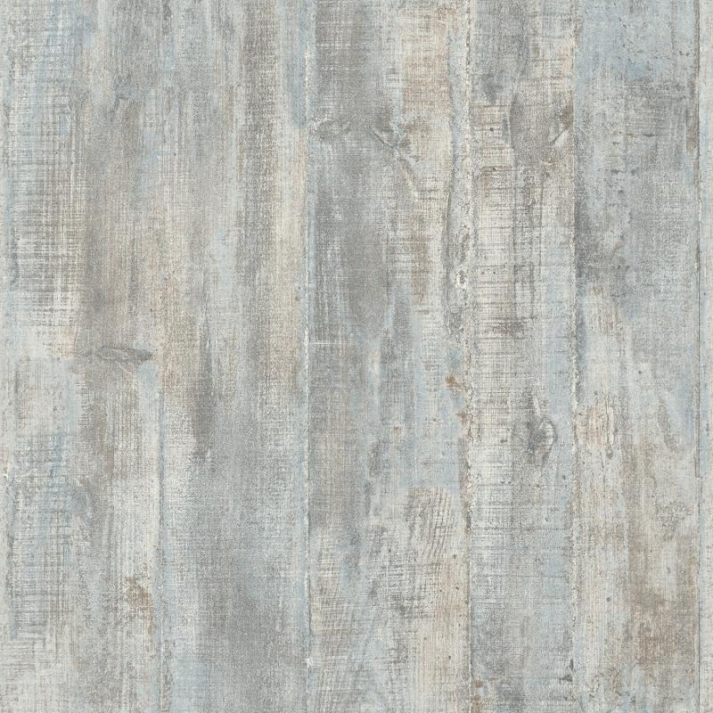 Papier peint Béton coffré gris bleu
