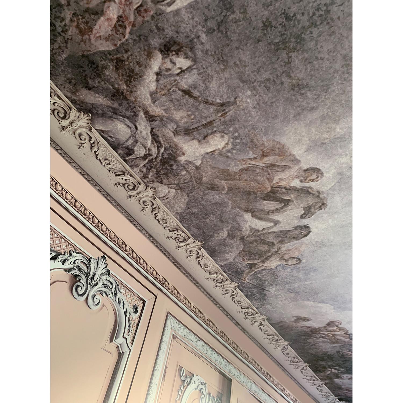 Papier Peint Trompe L Oeil Plafond décor panoramique fresque de versailles pour murs & plafonds