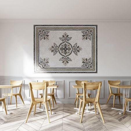 Vinyl mosaic rug Erika - Wide size