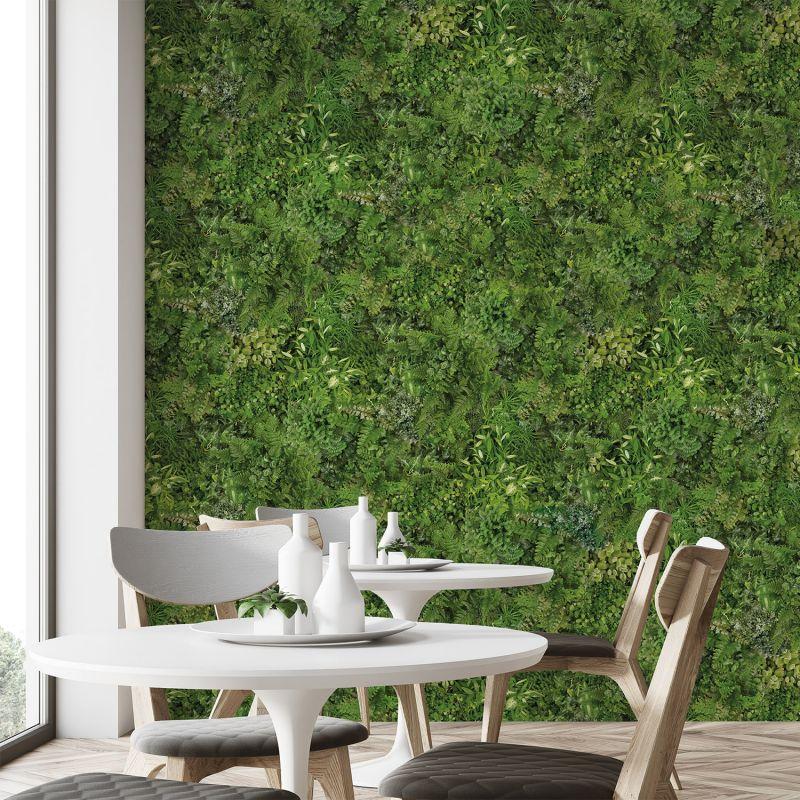 papier peint panoramique mur v g tal. Black Bedroom Furniture Sets. Home Design Ideas