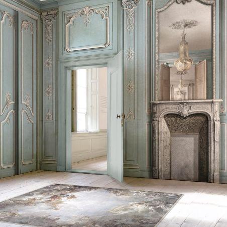 Ceiling of Versailles vinyl rug - Wide size