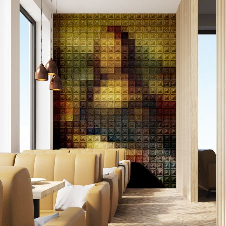 Fresque Mona Lisa La Joconde vue par Koziel