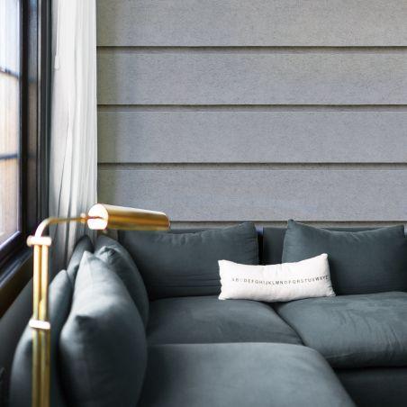 Papier Peint Pierre de taille façade Haussmannienne grise - Outlet