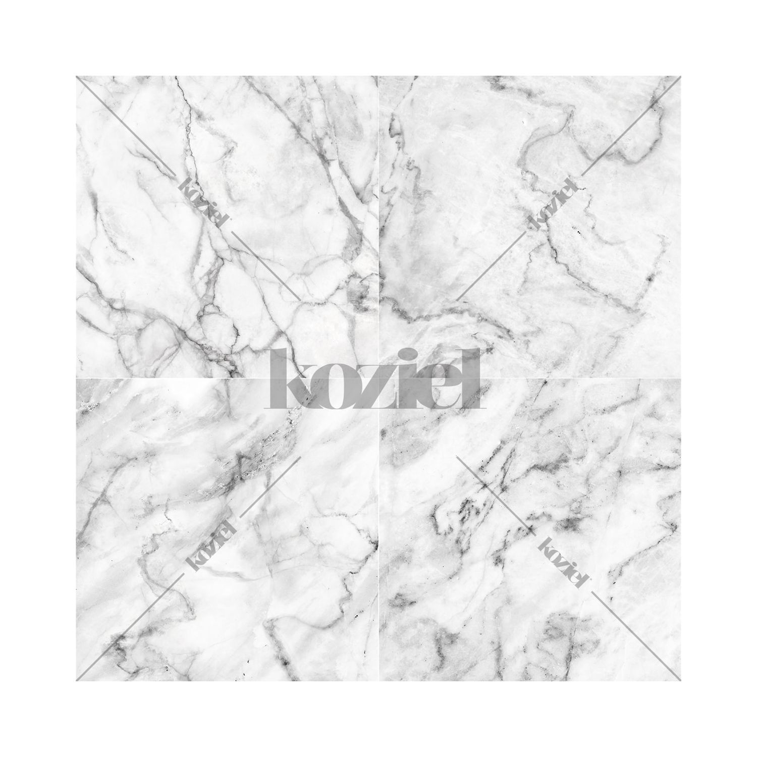 White Gray Marble Wallpaper
