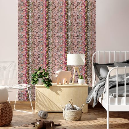 Macrame On the heights of Lisbon wallpaper by Laurentine Perilhou