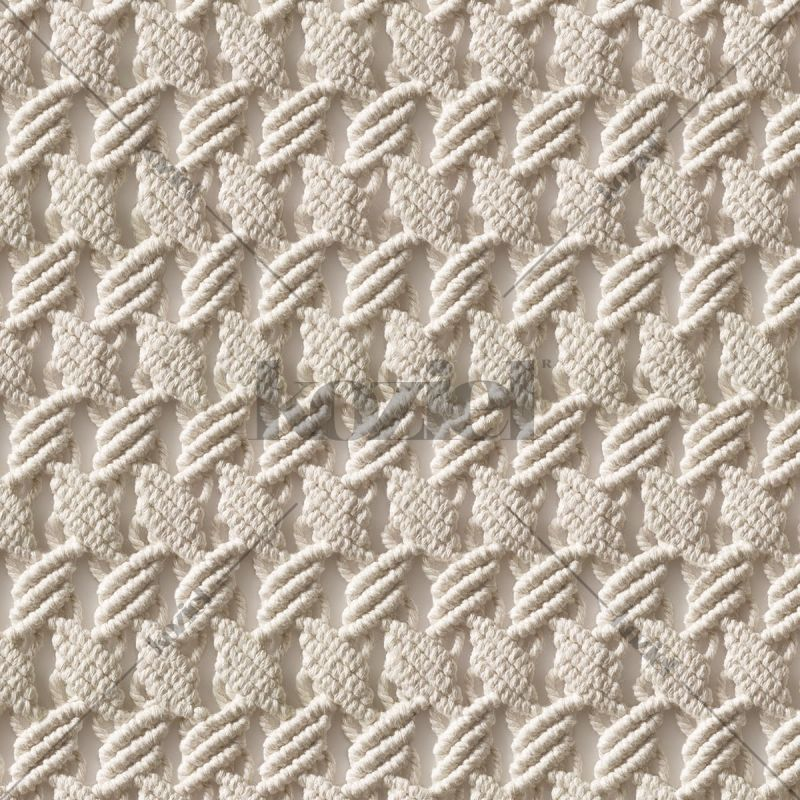 Papier peint macramé Désert d'Uyuni par Laurentine Perilhou