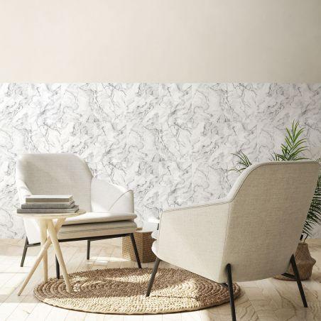 White gray marble wallpaper