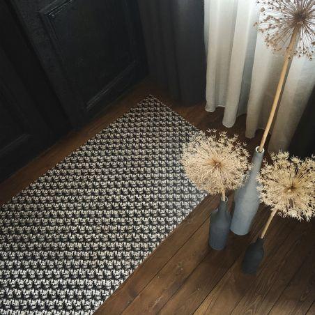 Vinyl mosaic rug Helena - runner size