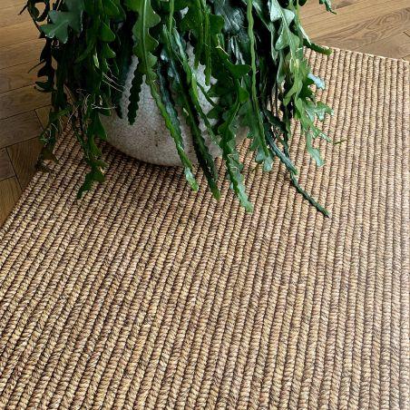 Abaca weaving vinyl rug - runner size