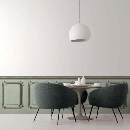 Lovat green haussmannian wainscot - model 1
