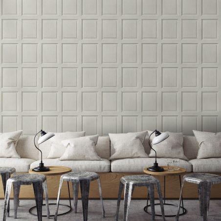 English wood paneling wallpaper - Mastic