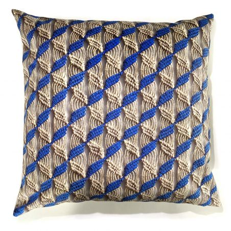 Laurentine Perilhou's Majorelle scent cushion cover