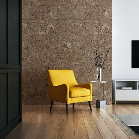 Dark cork squares wallpaper