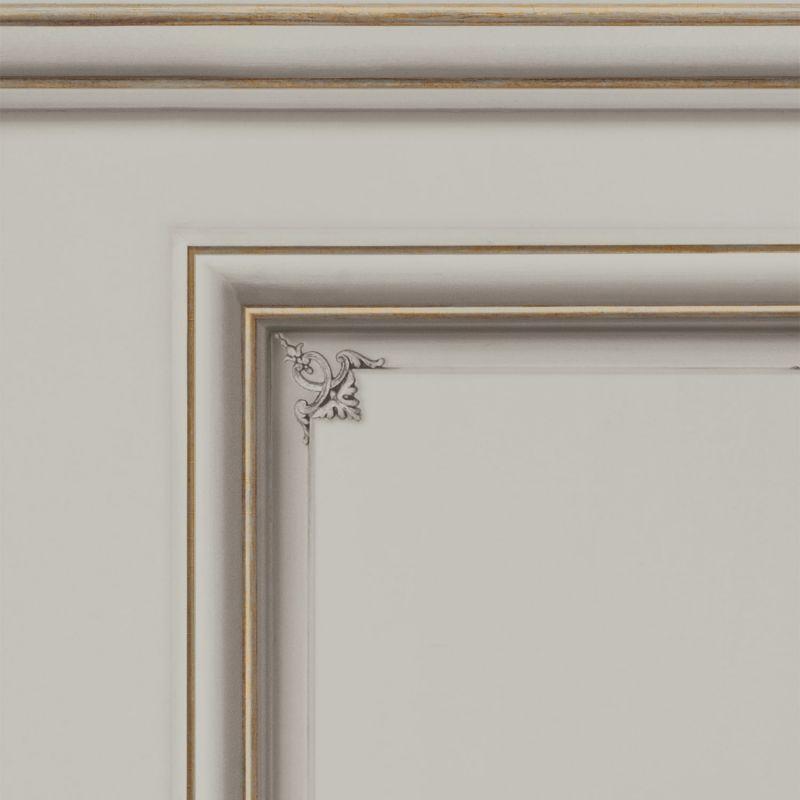 Haussmann wainscot wallpaper Mastic - Sample