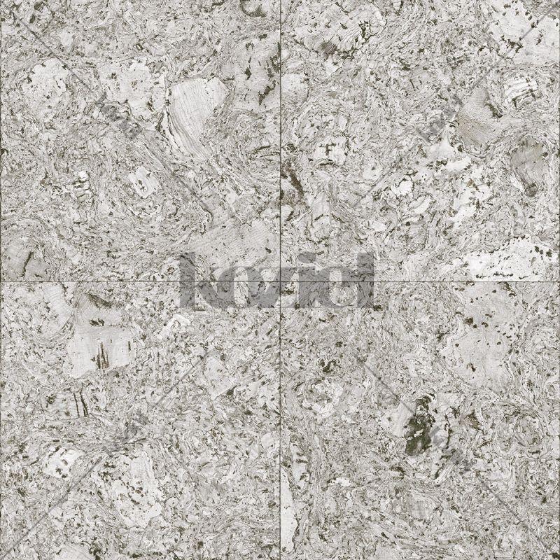 Papier peint carrés de liège gris clair