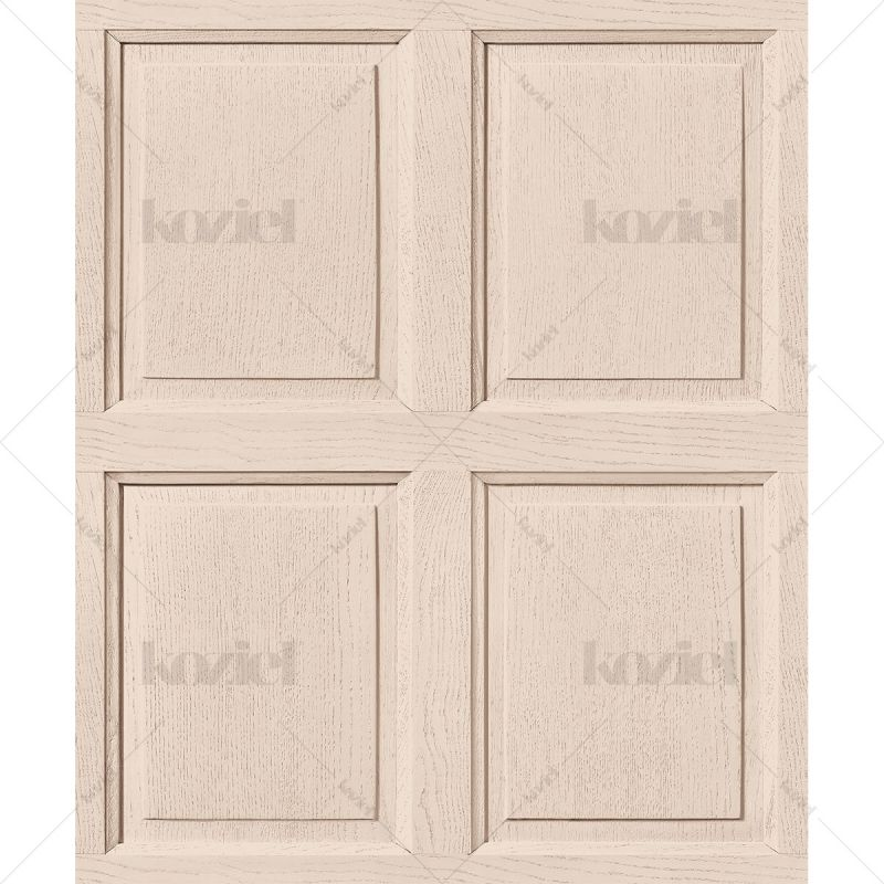 English wood paneling wallpaper - Linen