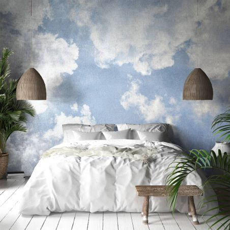 Sky II panoramic wall mural