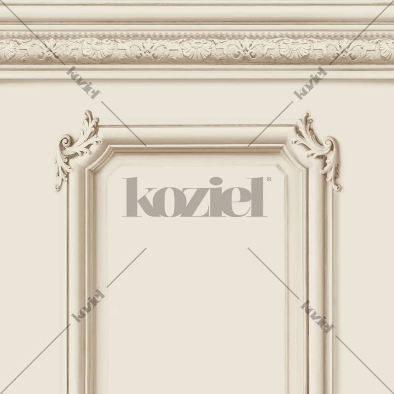 Papier Peint Soubassement Haussmannien beige - Echantillon