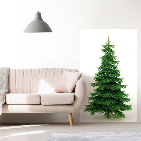Green pine tree wallpaper