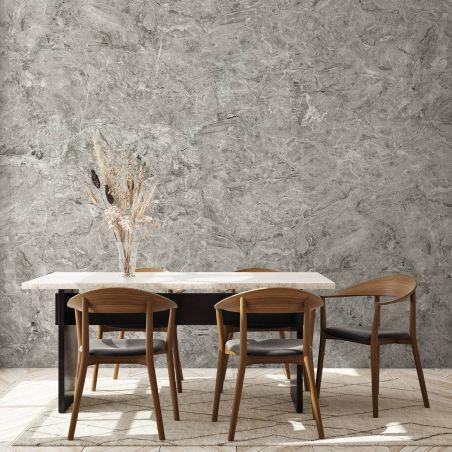 Papier peint panoramique marbre breccia oniciata gris clair