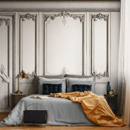 Set of Haussmann wood panels - Mystical