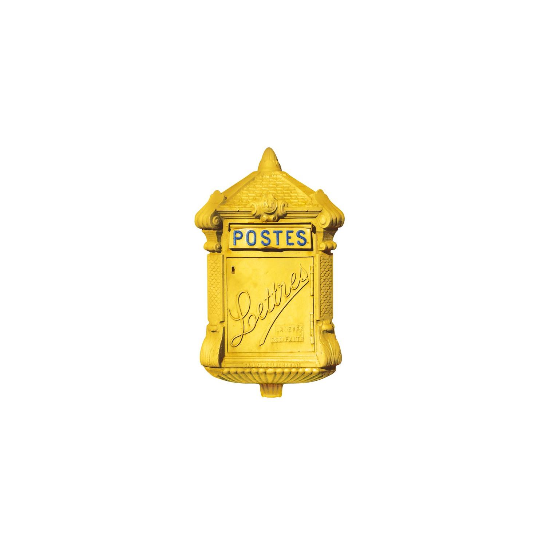 """La Boite Jaune Prix boite aux lettres trompe-l'œil """"vendyn"""" - jaune"""