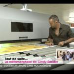 Christophe Koziel dans son atelier Lillois.