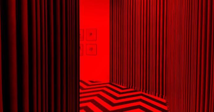 Koziel dans l'exposition David Lynch