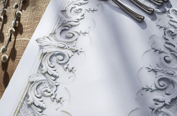 Set de table trompe l'oeil Koziel