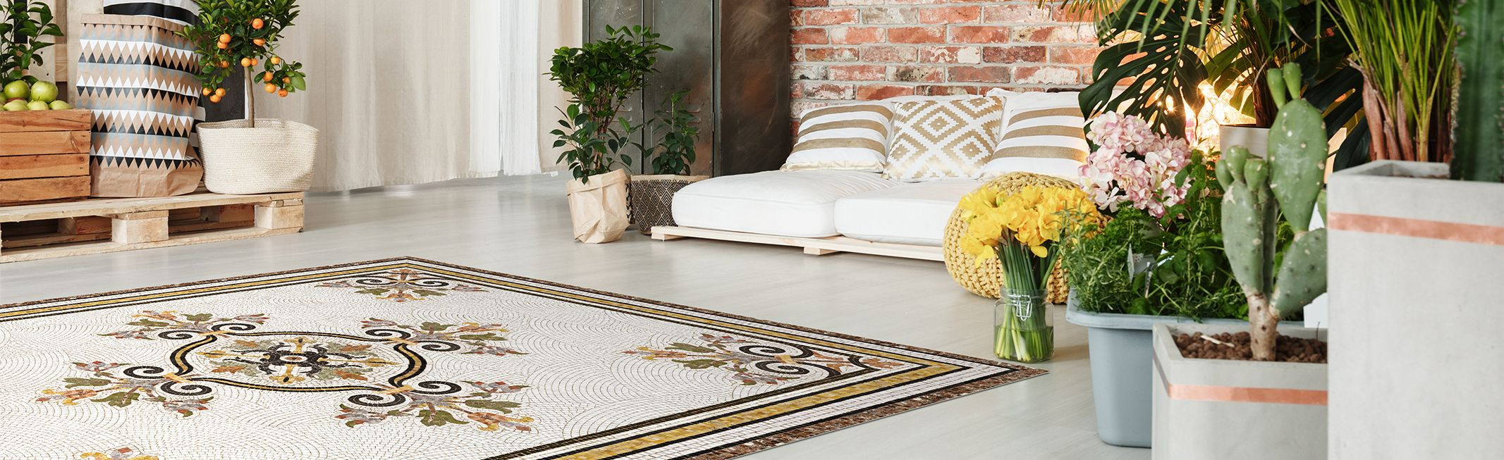 Vinyl rugs collection