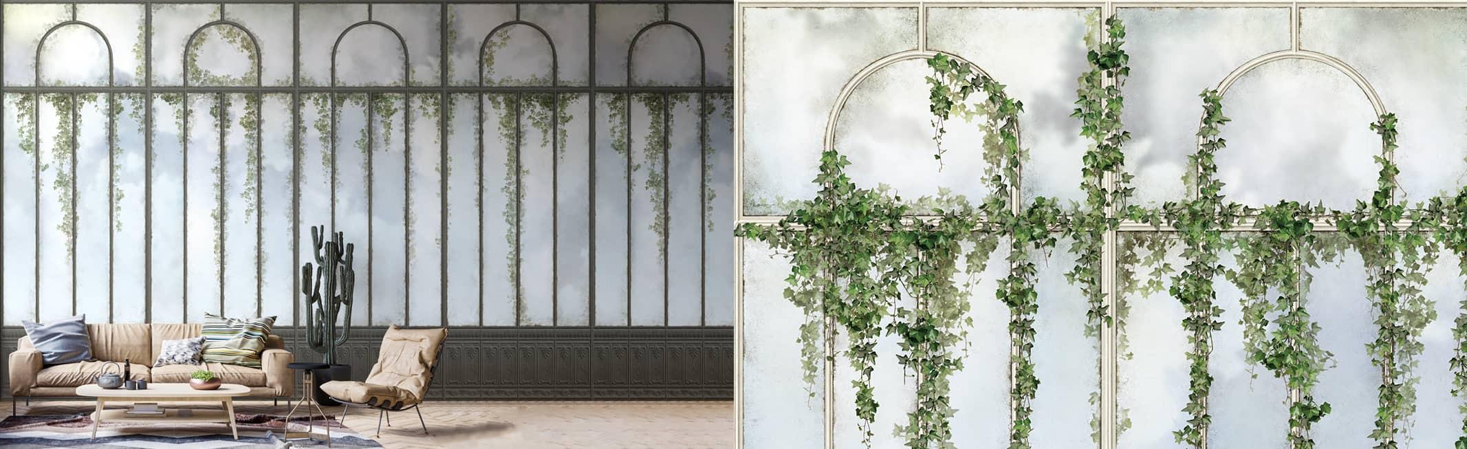 royal greenhouse murals